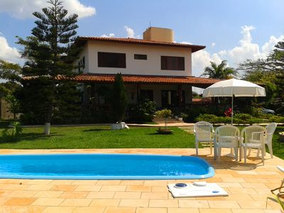 Photo for Beautiful villa w / pool w / enjoy the mountain climate
