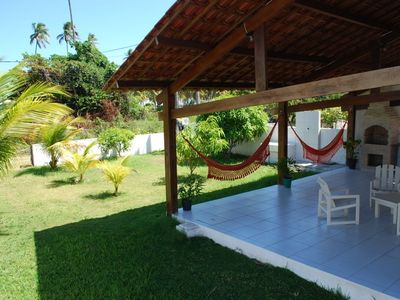Photo for Beach house in a paradise, excellent to rest, close to Port of chickens