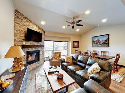 Photo for Brand-New 4BR Townhouse with Private Hot Tub – 12 Mins. To Park City Resort