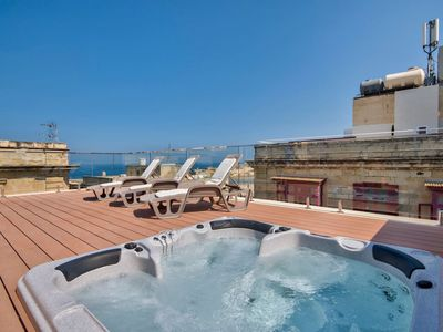 Photo for Valletta Harbor with Views 3-bedroom Penthouse