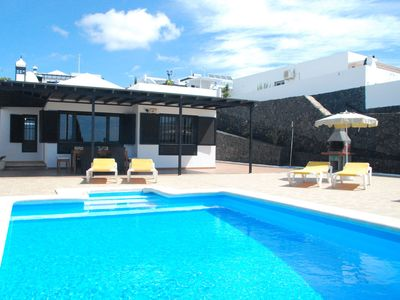 Photo for Detached villa with a private swimming pool in Puerto del Carmen on Lanzarote