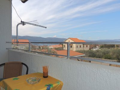 Photo for Studio in Brzac, Island Krk, Croatia for 2 persons