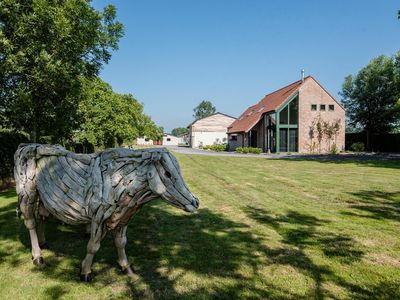 Photo for Beautiful spacious holiday home in nature reserve in Bruges