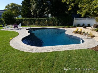 Photo for Quaint and Quiet cottage. Newly renovated built in pool!
