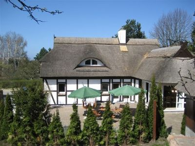 Photo for Exclusive thatched, detached ***** house (150 square metres) near the Baltic Sea