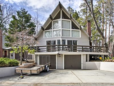 Photo for Lake Arrowhead House w/Deck - Walk to the Lake!