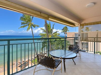 Photo for Makani Sands Combo (Unit 302 & 310) 14-16 guests, Beach front, Pool, Great location!