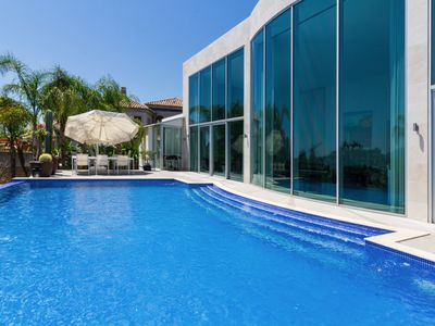 Photo for This 2-bedroom villa for up to 6 guests is located in Marbella and has a private swimming pool, air-