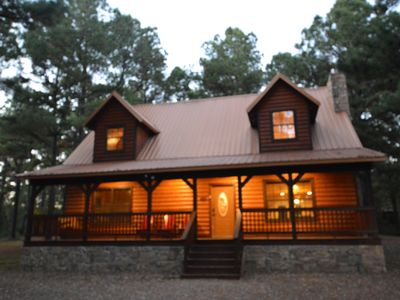 Photo for Amazing Grace- Great Location, Hot Tub, 3 bedroom, 2.5 bath Luxury cabin