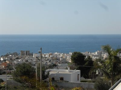Photo for Villa on three levels with sea view, air conditioning and wifi