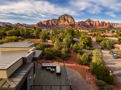 Newly Constructed 2,580 Sq. Ft. Luxury Home Embraced by Sedona Red Rocks