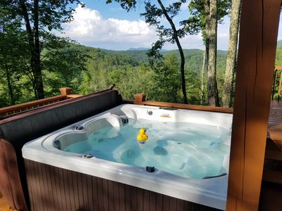 Photo for Peaceful! Private and secluded cabin with everything you need!