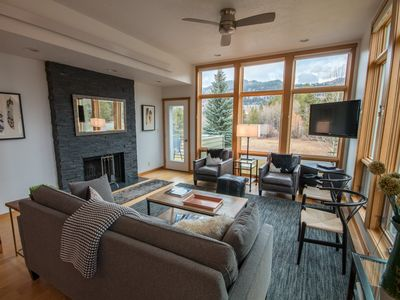 Photo for Spectacular Views From 3 Bedroom Aspens Condo!  Only minutes to best skiing!