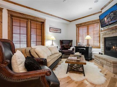Photo for NO CLEANING FEE ~ HM3D by Mountain Resorts ~ Luxury Condo with A/C & pool area