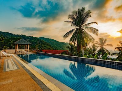 Photo for KTV- Sea view pool villa in Kata for 10 people, Big Buddha views