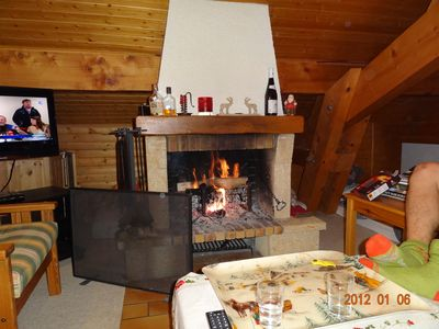 Photo for Chalet Apartment 8 people quiet with views facing south.