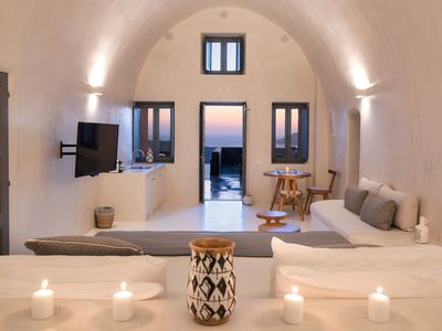 Photo for Villa Dusk in Fira, Santorini