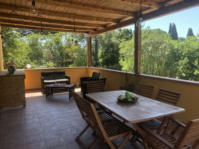 Photo for Villetta Lampone, independent and surrounded by greenery with Wi-fi and garden.