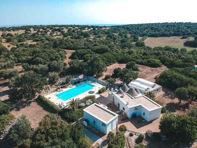 Photo for Magnificent Trulli Sleeping 16 With Huge 18 X 7 Infinity Pool