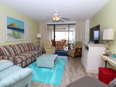 Bluewater 105- Walkout Unit with Huge Beach Front Patio!