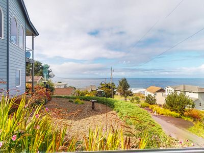 Photo for Recently remodeled, secluded home in a quiet setting by the beach
