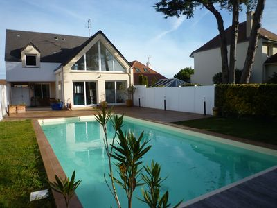 Photo for Beautiful holiday home, very close to the sea with private pool