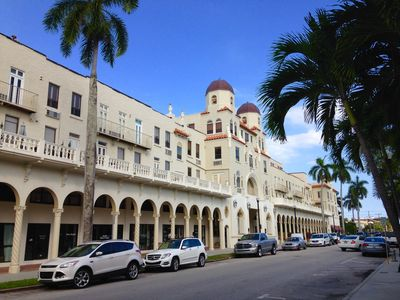 The Historic Landmarked Palm Beach Hotel
