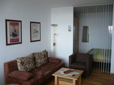 Photo for Close to the beach and modern furnished apartment with sea views