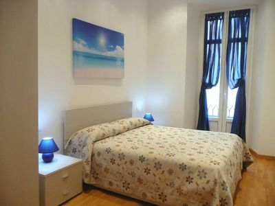 Photo for Beautiful bedroom flat in the center 2 minutes walk from Piazza Castello