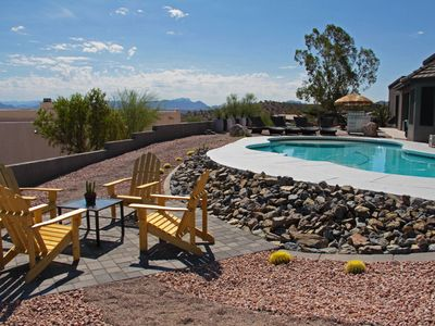 Photo for Spectacular views of Four Peaks & privacy...and it's POOL SEASON!