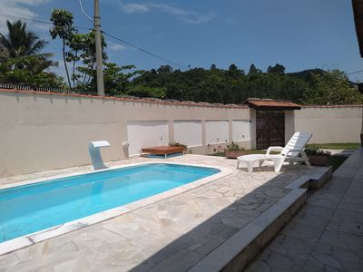 Photo for Cozy house with pool near the beach