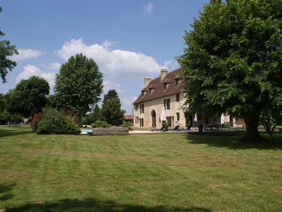 Photo for Villa and Gite with pool in Bergerac, Dordogne, SW France