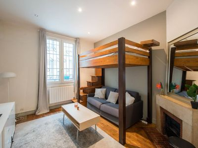 Photo for Cozy apartment close to Montmartre
