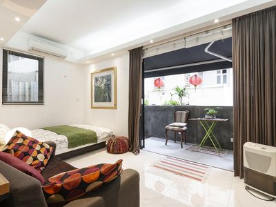 Photo for Deluxe  studio Flat with Terrace for  4 Guests