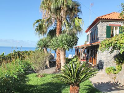 Photo for Cliff-top location, peaceful, breathtaking sea views   Stonecliff Cottage