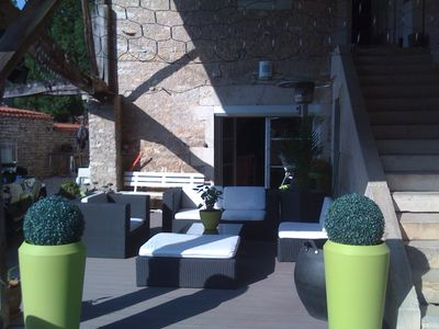 Photo for Amazing apt with garden and terrace