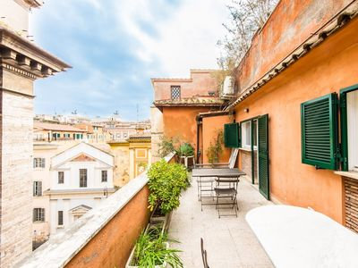 Photo for Apartment in the center of Rome with Internet, Air conditioning, Lift, Terrace (9743)