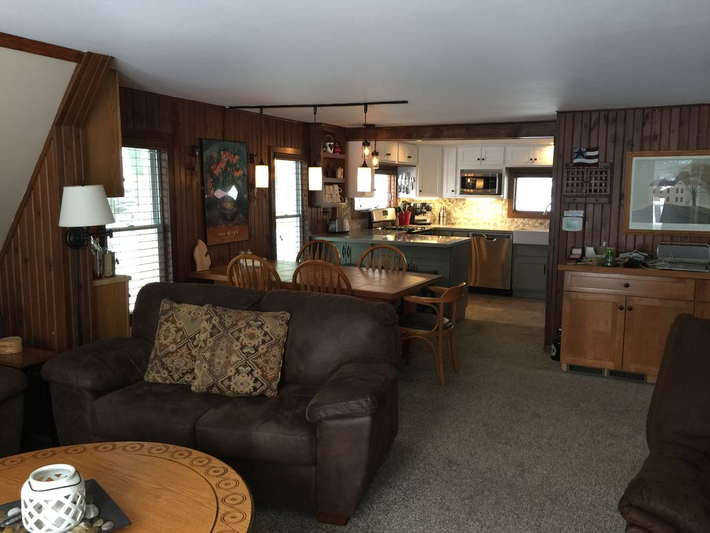 kp s hamlin lake cottage updated classic a frame with pleasant rh bnbdaily com