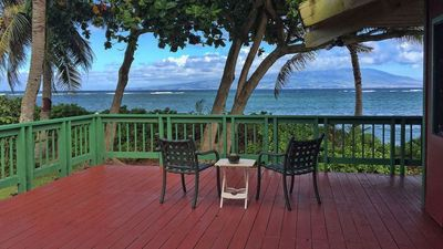 Photo for Holiday Special! Book now for the best deal! Large Beachfront Home on Molokai