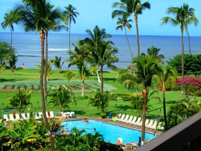 Photo for Maui Sunset #A-407 1Bd/2Ba, Oceanfront Complex, Wifi, Great Rates! Sleeps 4