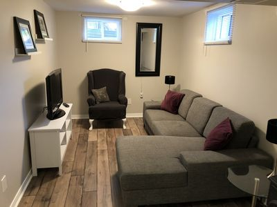 Photo for Stay Here!  Modern Newly Renovated 2 Bedroom Lower Unit
