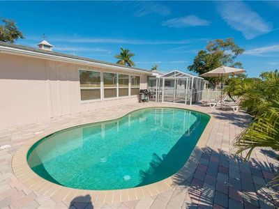Photo for Private Pool & Dock!! June Availability! Sunkissed: 3 BR / 2 BA  in Holmes Beach