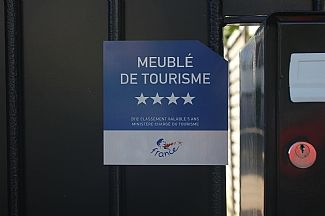 4 Star rating by French Tourist Board