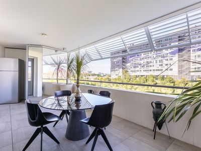 Photo for Port Marianne: Superb T2 with terrace and garage