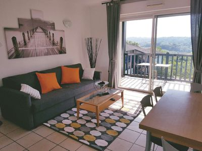 Photo for Apartment 6 people, residence of Bassussary Golf (Basque Country)