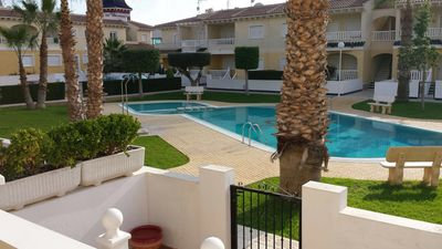 Photo for Beautiful linked villa overlooking the pool area, walking distance to amenities