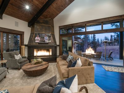 Photo for Colony Modern Mountain Estate | Ski-in/Ski-Out | Hot Tub | Concierge Services