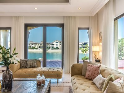 Photo for Heavenly Secluded Beach House at the Palm Jumeirah