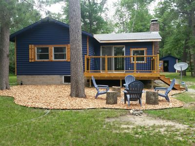 Photo for Cute, remodeled cabin on peaceful Star Lake in Crosslake, Minnesota