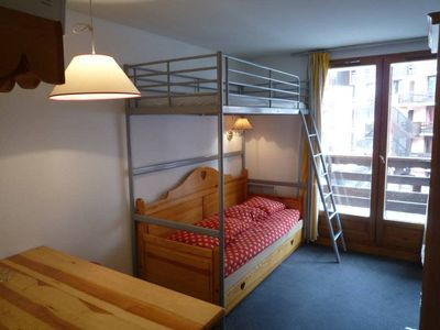 Photo for 20Beautiful apartment for 6 to 9 people max-30m² - At the ski slopes – Wifi